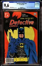 Detective Comics 575 CGC 9.6 Newstand Year Two Story Begins