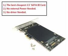 Puerto SATA III de arranque a PCI-E Tarjeta Adaptadora X1 SSD para MAC PRO OSX 10.8-10.15