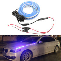 2PCS 80CM 12V Car LED Atmosphere Light Decor Lamp Strip For Auto Hood Waterproof
