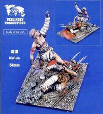 Verlinden Productions 1:32 54mm Gladiator - 2 Resin Figures Kit #1818