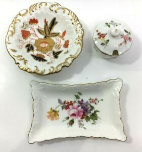 3 Pieces of Royal Crown Derby Bone China