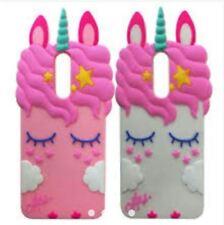 Samsung J7 unicorn silicon soft case - WHITE