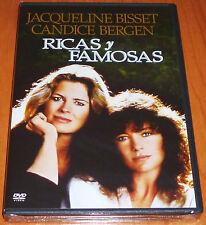 RICAS Y FAMOSAS / RICH AND FAMOUS George Cukor 1981 DVD R2 Precintada