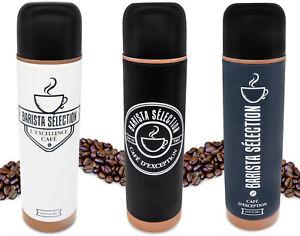 Isolierkanne Kaffee Thermoskanne Edelstahl doppelwandige Thermosflasche 450 ml