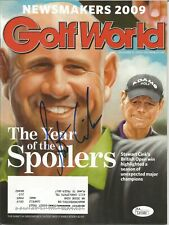 Stewart Cink Autographed Golf World Magazine - JSA Authenticated