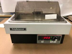 2L Digitally Controlled Thermostat Waterbath by Poly Science WORKS WELL