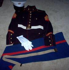 USMC US Marine Corps Complete dress Blue Uniform Sgt.