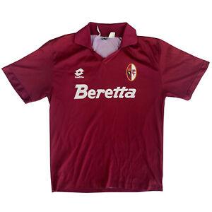 Original Torino 1993-1994 Home Football Shirt Lotto Maglia Calcio (M)