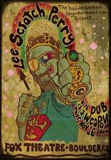 Lee Scratch Perry Wild 2006 Boulder Co Concert Poster