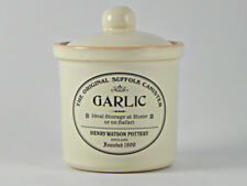 Charlotte Watson Crème babeurre Céramique Ail Cave Jar Pot BM195