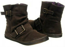 Blowfish Rydan boots ankle dark brown sz 6.5 Med NEW