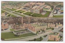 Firestone Rubber Tire Factory Panorama Akron Ohio 1957 postcard