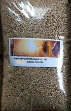 450g BAG QUALITY CHICK STARTER CRUMBS BABY CHICKEN FEED COMPLETE CHICK FOOD