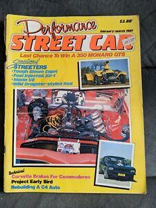 PERFORMANCE STREET CAR MAGAZINE , FEB / MAR 1987