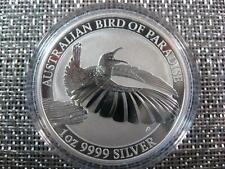 "2018 Silver Australian BIRD OF PARADISE ""RIFLEBIRD"" 1 oz. Perth Mint Coin Sealed"