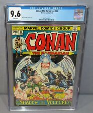 CONAN THE BARBARIAN #22 (White Pages) CGC 9.6 NM+ Marvel Comics 1973