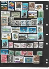 STAMPS FROM ICELAND, five pages !!!!