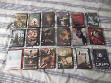 Horror movie  job lot of DVD's .some boxed sets  ..Rated 18 ,,,See pics