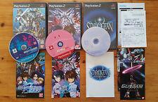 lot ps2 : Star ocean + Gundam Seed + Sd Gundam Seed / NTSC J / complets
