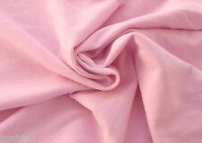 Baby Pink Cotton French Terry Knit Fabric by the Yard 5/15