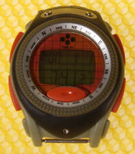 Men's HELIX (by TIMEX) Digital LCD Compass Quartz  Watch  =NO BAND= <WORK WELL>