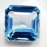 CERTIFIED 100%Natural Genuine Blue Untreated Aquamarine 11 Ct Loose Gemstone