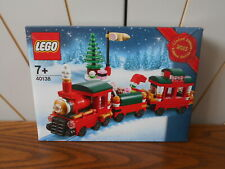 WINTER TRAIN RIDE limited edition LEGO set CHRISTMAS seasonal, new/box 40138