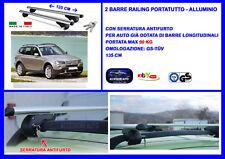 Kit Barre Portatutto - Portapacchi - Portabagagli  BMW X3 dal 2004>2010