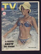 SORRISI 31/1963 JOHNNY 7 MARILYN MONROE HARDY PITTIRUTI SUB CATERINA VALENTE