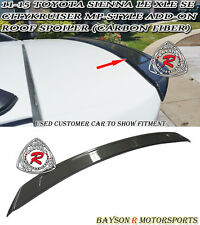 CityKruiser MP-Style Add-on Roof Spoiler Wing (Carbon Fiber) Fits 11-17 Sienna