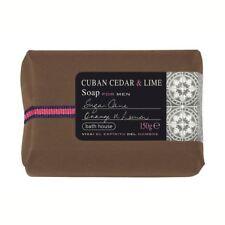 Bath House Soap Bar for Men 150g - Cuban Cedar & Lime