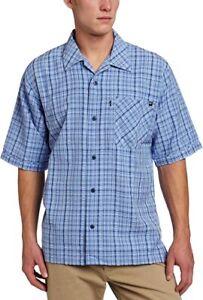 Blackhawk Warrior Mens Tactical 1700 Button Up Shirt Blue Plaid XX-Large 2XL NWT