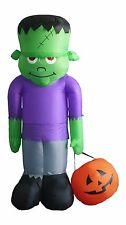 Halloween Air Blown LED Inflatable Yard Outdoor Decoration Frankenstein Monster