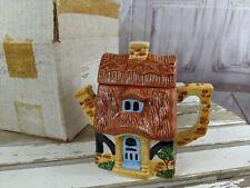 Vintage The Danbury Mint Pots of Fun! Pottage Teapot Coffee Pitcher Jug Cottage