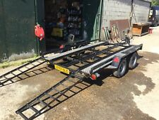Twin Wheel Small Car Trailer/Transporter All Good ready To Go,Bargain