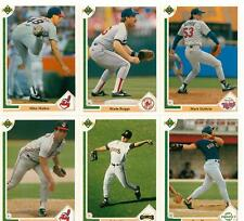1991 Upper Deck Baseball Lot - You Pick - Includes Stars