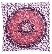 """Indian Ombre mandala Cotton Linen Cushion Cover Home Decor Throw Pillow Case 16"""""""