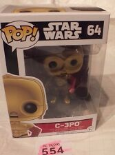 Star Wars FUNKO POP C-3PO STARWARS (64) Action Figure P554 The Force Awakens