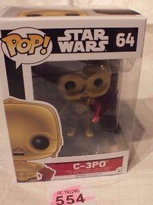 Star Wars FUNKO POP C-3PO STARWARS (64) Action Figure P554 The Force Awakens