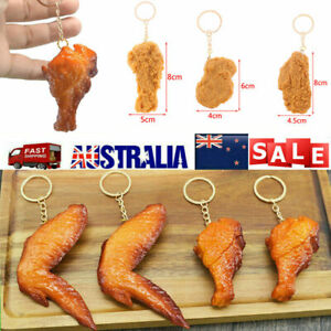 KFC Chicken Wing Wicked Wing Chicken Nuggets Wing Root Chicken Leg Keychain New