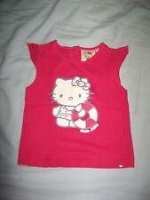 tee-shirt hello kitty de taille 6 mois neuf pas porté