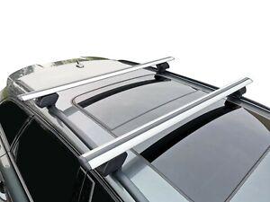 Alloy Roof Rack Cross Bar for Hyundai Santa Fe DM 2013-18 Lockable 120cm