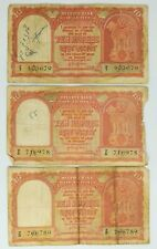 3 pcs 10 Rupees Persian Gulf Issue - Year 1957 (Group A)