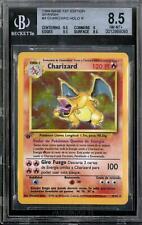 Pokemon Base Set 1st Edition SPANISH Charizard 4/102 BGS 8.5