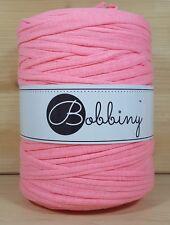 Bobbiny `Stoffgarn Fluo Pink Ton` Neu Baumwolle, Häkeln,Stricken wie Hooked 808