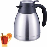 34 Ounce Double Wall Vacuum Thermos Insulated Stainless Steel Carafe Coffee...