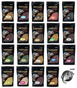Grundfutter Angelfutter Lockfutter JAXON METHOD FEEDER READY GROUNDBAIT 4,38€/kg