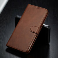 For iPhone 8 7 6s Plus 5S SE Magnetic PU Leather Case Wallet Card Flip Cover