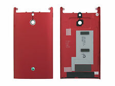 Genuine Sony LT22i Xperia P Red Battery Cover - 1257-6389