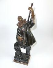 Clown Bronzefigur um 1920 Sign. D.H. Chiparus Etling Paris Bronze